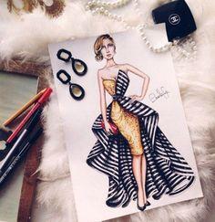 Dress Design Drawing, Dress Design Sketches, Fashion Design Sketchbook, Fashion Design Drawings, Dress Illustration, Fashion Illustration Dresses, Fashion Model Sketch, Fashion Sketches, Set Fashion