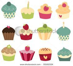 Cupcake Photoshop Brushes