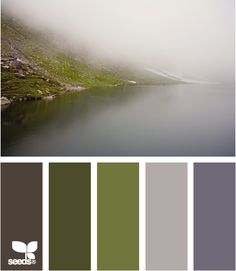 misty tones--Love this color combination --so restful to me. Great spa colors.