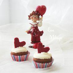"""Маффины """"Viva l'amore"""" к Дню Святого Валентина"""