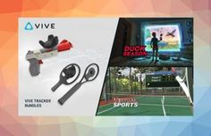 HTC Announces Consumer Availability of Vive Tracker & New Tracker Accessory Bundles