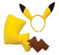Child Pikachu Costume Kit                                                                                                                                                     More