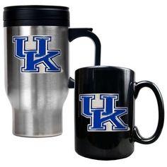 Kentucky Wildcats 2-pc. Mug Set, Multicolor