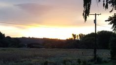 My old house...I miss the sunsets there