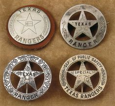 History of badges of Texas Rangers! ★ History of badges of Texas Rangers! Texas Rangers Law Enforcement, Texas Treasures, Republic Of Texas, Texas Forever, Loving Texas, The Lone Ranger, Texas Pride, Lone Star State, Texas History