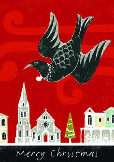 Christchurch Christmas card