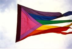 Flag from Pride 1988