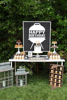 BBQ BIRTHDAY PARTY –