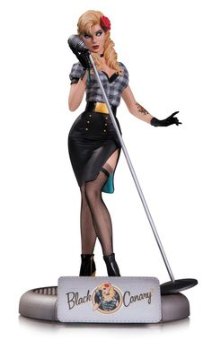 Amazon.com: DC Collectibles DC Comics Bombshells: Black Canary Statue: Toys & Games