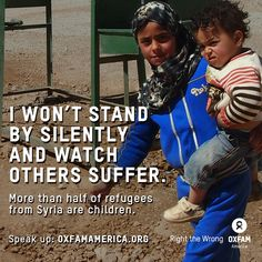 re-pin to show that you won't stand by silently and watch others suffer in Syria.