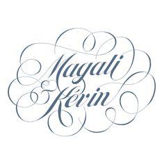 Ilk — Logo for Magali & Kevin wedding