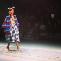 Trompe-l'oeil cultural exploration: a new #metissage SS14 collection #mfw #stellajean ITC Ethical Fashion Initiative