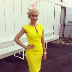 Galway Fashion Bloggers Day Out at the Galway Races thanks to Ladbrokes #GalwayRaces #GalwayRacesStyle #GalwayRacesFashion #GalwayRacesLadbrokes Races Style, Peplum, Bodycon Dress, Yellow Daisies, Races Fashion, What I Wore, Fashion Bloggers, Racing, Day