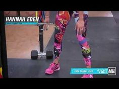 Red Hair Super Sexy girl Hannah Eden Crossfit High Intensity Workout HD - YouTube