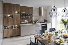 Jela Šedý kameň vysoký lesk - Decodom Flat Ideas, Kitchen, Table, Furniture, Craft, Home Decor, Cooking, Homemade Home Decor, Creative Crafts