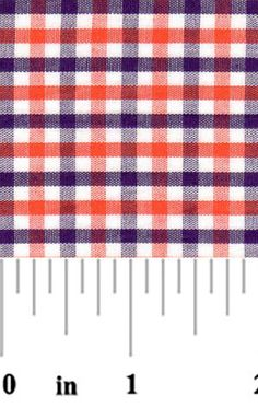 e95426b74fb Fabric Finders Purple and Orange Check Fabric – #T98, fabric by the yard, tiger  plaid fabric, sewing quilting fabric