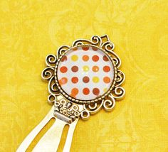 Vintage Inspired  Metal Bookmark  Elegant by HandcraftedWithJoy