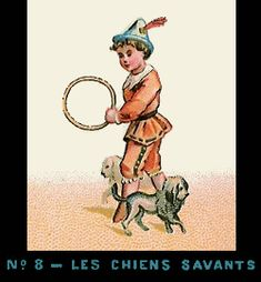 Bande de Praxinoscope n°8 - Les Chiens savants
