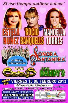 Estela Nuñez, Rocío Banquells y Manoella Torres celebran el Día del Amor
