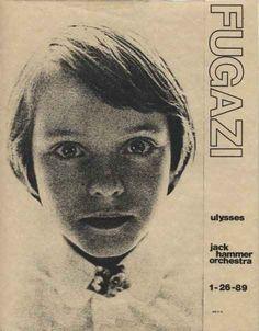 Fugazi, Ulysses and Jack Hammer Orchestra vintage punk flyer