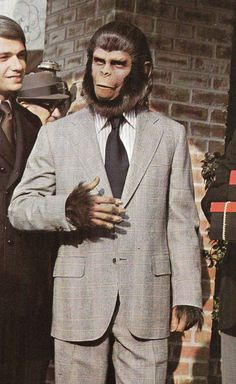 "Cornelius from ""Escape from the Planet of the Apes"":"