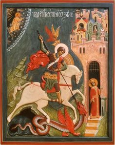 George Relief icon by Marina Steblina (Марина Стеблина) of the Ukraine Religious Icons, Religious Art, Saint George And The Dragon, Christian Mysticism, Christian Artwork, Byzantine Art, Book Of Hours, Art Icon, Orthodox Icons