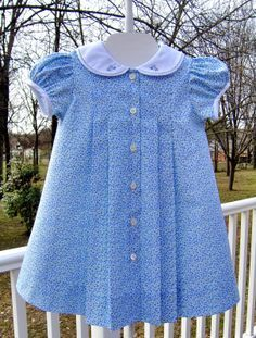 sailor dress creations by michie Girls Frock Design, Baby Dress Design, Kids Frocks Design, Baby Girl Dress Patterns, Baby Frocks Designs, Skirt Patterns, Coat Patterns, Blouse Patterns, Sewing Patterns