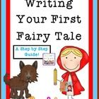 This file is a 20 page download that walks your student through 13 steps in creating a fairy tale. Included you will find 13 planning sheets for developing elements in a fairy tale like, characters, greed, mistakes, warnings, dialogue, magic, and setting. You will also fine a My First Fairy Tale writing packet for your students to create their tale while referring to the planning sheets.  $3.99