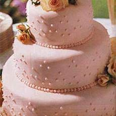 Fondant-Covered Wedding Cake with Raspberries and Chocolate- I've used this recipe several times.  Awesome frosting!!