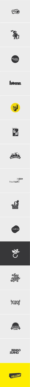 Logos 2009-2012 by Alexandra Turban, via Behance