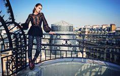 Marine Deleeuw by Serge Leblon for Bergdorf Goodman Magazine Pre Fall 2014