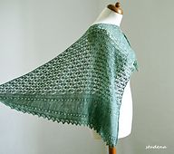 Ravelry: Sonetto Shawl pattern by Judy Marples