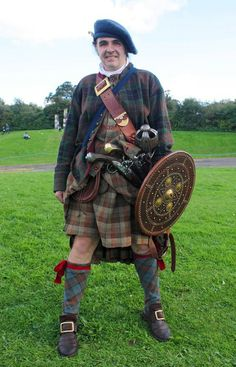 Jacobite highlander at Prestonpans