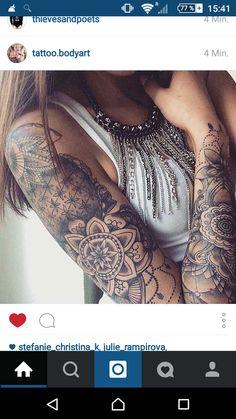 mandala tattoo idea #ink #youqueen #girly #tattoos #mandala @youqueen