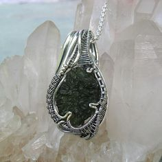 3ce464104ab23 69 Best Moldavite images in 2017 | Wire wrapped jewelry, Wire art ...