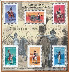 Timbre : 2004 Napoléon Ier et la garde impériale | WikiTimbres