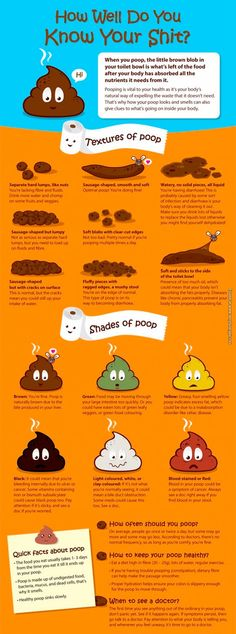 Know your poop to help you stay healthy.