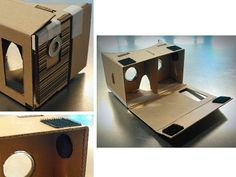 DIY Google Cardboard viewer - magnet switch and Velcro
