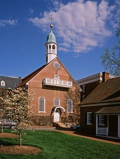 Home Moravian Church, Old Salem, Winston-Salem, N.C.