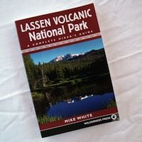 Great hikes in Lassen Park. www.stbernardlodge.com/store.php  $17.95