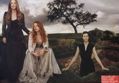 Women of Six Feet Under: Frances Conroy, Lauren Ambrose & Rachel Griffiths - Steven Klein for Vogue