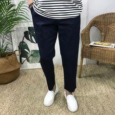 """24400원""""쿠팡 파트너스 활동의 일환으로 이에 따른 일정액의 수수료를 제공받고 있습니다""""#이루네#남자#린넨#스판#밴딩#와이드#팬츠 Capri Pants, Suits, Fashion, Moda, Capri Trousers, Fashion Styles, Suit, Wedding Suits, Fashion Illustrations"""