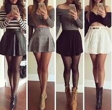 S skirts in 2019 fashion outfits, skirt outfits, skater skirt Komplette Outfits, Teen Fashion Outfits, Fall Outfits, Summer Outfits, Casual Outfits, Womens Fashion, Style Fashion, Dress Fashion, Classy Fashion