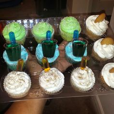Tipsy Cupcakes