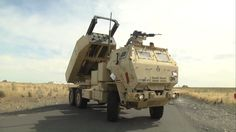 The High Mobility Artillery Rocket System (HIMARS) is a long range artillery weapons and when you combine it with a C-17 aircraft this weapons reach is worldwide.