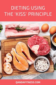 The world of nutrition is an absolute minefield there's a million and one diets around. Find out more about the 'Keep It Simple, Stupid' approach to nutrition and it's benefits here - QandA Fitness - #fitness #kissNutrition #diet #HealthyEating