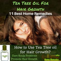 Tea Tree Oil For Hair Growth: How To Use Tea Tree Oil For Hair, Hair Growth Home Remedies, How to Get Long, Strong, Healthy Hair