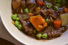 Beef stew with sweet potatoes - I made this and added bay leaves and a splash of red wine... Amazing!