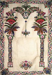 Abd el-Kader's prayer rug Mood Colors, Colours, Prayer Rug, Sufi, Mystic, Prayers, Cross Stitch, Embroidery, Projects