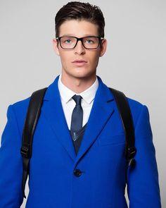 Enrico Coveri Fall/Winter 2016/2017 menswear and accessories preview. #fashion #coveri #blue #electricblue #enricocoveri #tie #instafashion